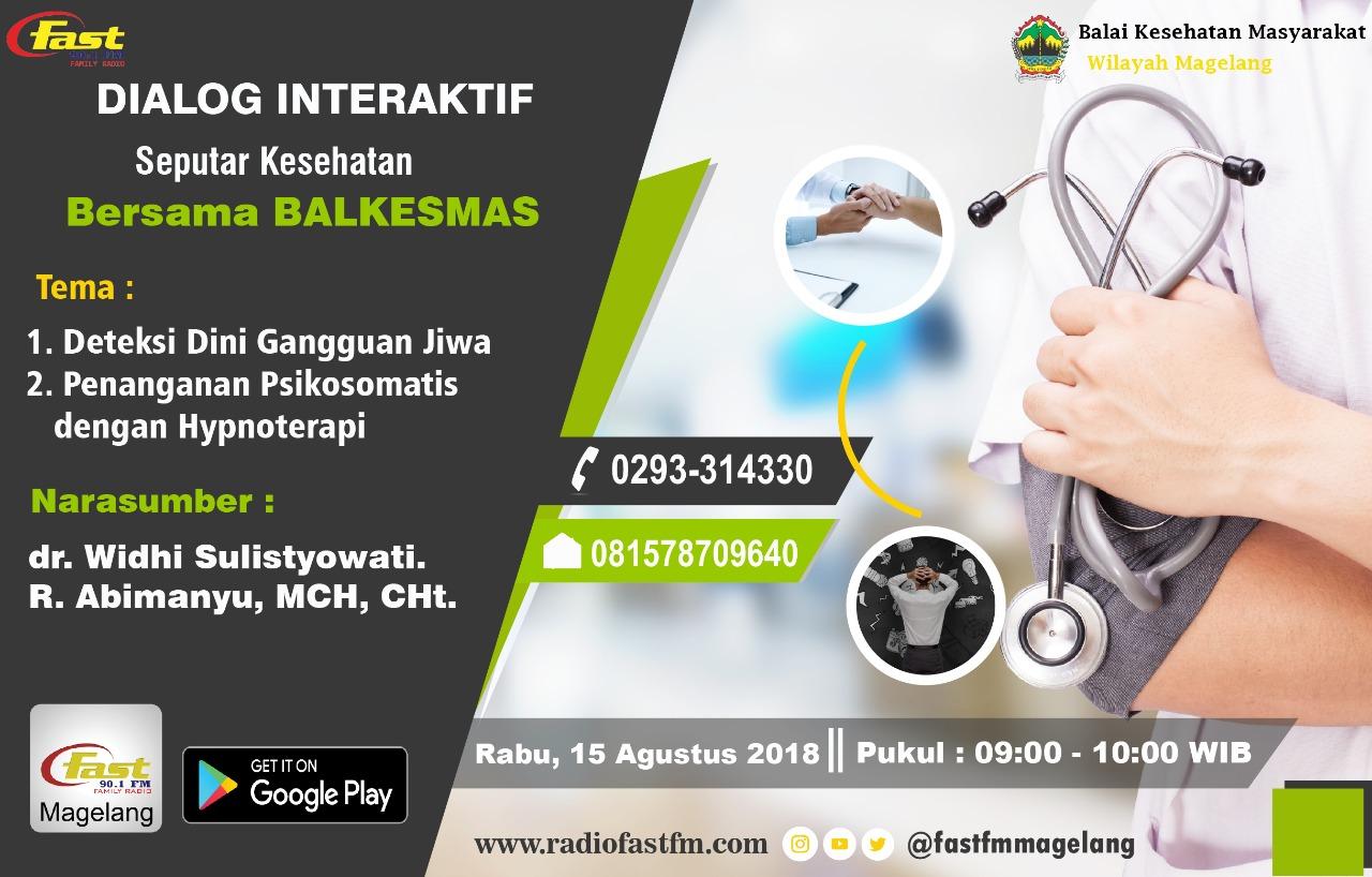 Dialog Interaktif di Fast FM bulan Agustus