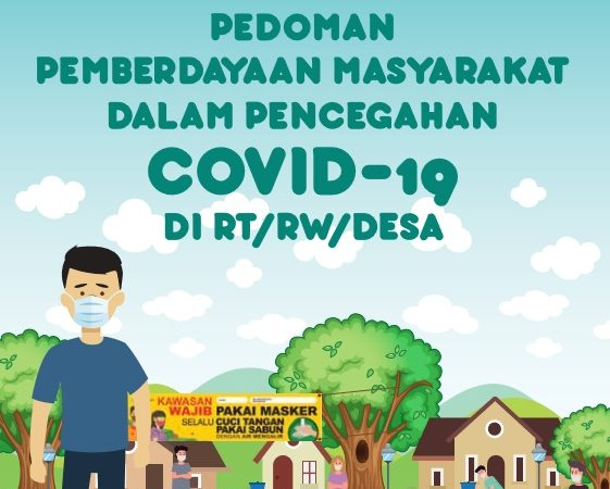 BUKU PEDOMAN PEMBERDAYAAN MASY DLM PENCEGAHAN COVID-19