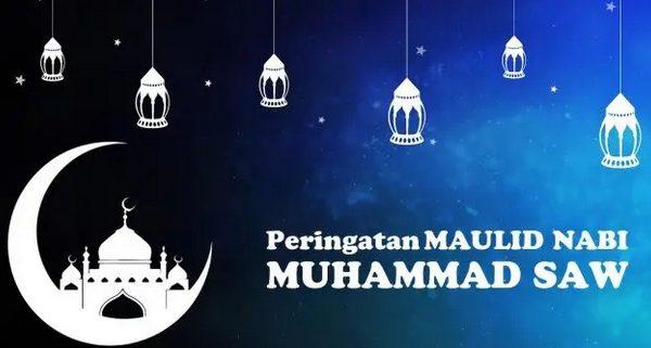 Cuti Bersama 28 - 30 Oktober 2020 (Peringatan Maulid Nabi Muhammad SAW)