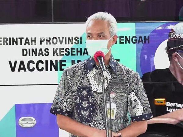 Launching Vaccine Mobile Jateng